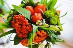 Bouquet peu commun de mariage photos stock