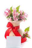 Bouquet of pink flowers Royalty Free Stock Photography