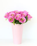 Bouquet of pink rose flowers Stock Images