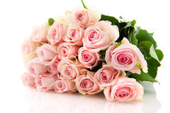 Bouquet pink roses Stock Photo