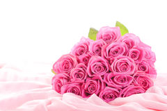 Bouquet of pink roses Royalty Free Stock Image