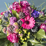 Vibrant Bouquet of Flowers Royalty Free Stock Photos