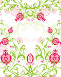 Bouquet of Pomegranate Pattern Royalty Free Stock Photos