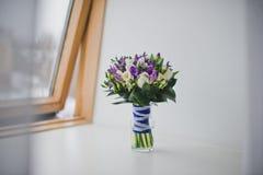 Bouquet pour la jeune mariée 855 Photographie stock libre de droits