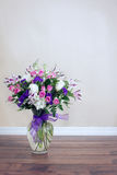 Bouquet Of Purple And Pink Flowers Royalty Free Stock Photography