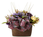 Bouquet in Purples Stock Photography