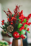 Bouquet from red berries Stock Photo