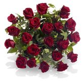 Bouquet with Red Roses Stock Photography
