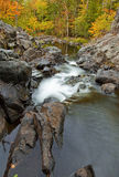 Bouquet River 2. Bouquet River in autumn located in Bolton Landing New York. Part of the adirondacks royalty free stock photos