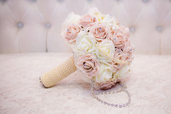 Bouquet rose blanc Image stock