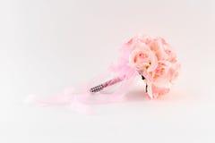 Bouquet rose de demoiselle d'honneur photos libres de droits