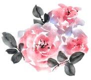 Bouquet rose de roses Image stock