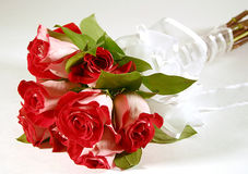 Bouquet of Roses. Bouquet of fire and ice roses Royalty Free Stock Images