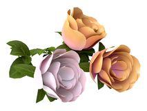 Bouquet of Roses vector illustration