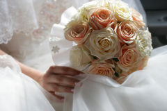Bouquet from roses Stock Photography