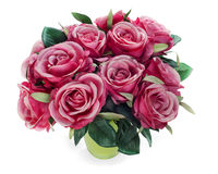 Bouquet from roses arrangement centerpiece Stock Image