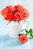 Bouquet of roses Stock Photo