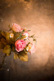 Bouquet of roses flowers, still life. Royalty Free Stock Image