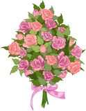 Bouquet of Roses Royalty Free Stock Photography