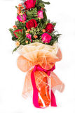 Bouquet of roses isolated Royalty Free Stock Image