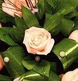 Bouquet with roses Stock Photography