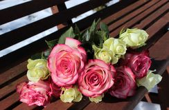 Bouquet Of Roses, Pink Roses Stock Images