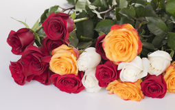 Bouquet  roses Royalty Free Stock Photography