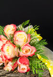 Bouquet of roses for special events Stock Images