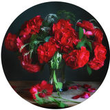 Bouquet from roses. Still life with bouquet from roses Royalty Free Stock Photo