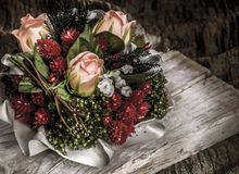 Bouquet of roses still life Royalty Free Stock Photos