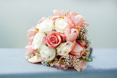 Bouquet roses for wedding Stock Photography