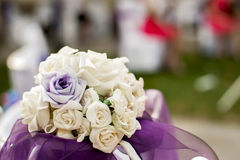 Bouquet roses for wedding Stock Photo