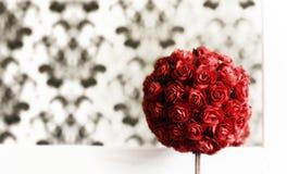 Bouquet rouge Photographie stock