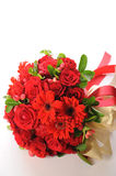 Bouquet rouge Photographie stock libre de droits