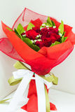 Bouquet rouge de Rose Photos libres de droits