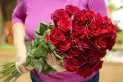 Bouquet rouge de Rose photo libre de droits