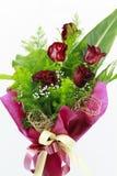 Bouquet rouge de roses Photos libres de droits