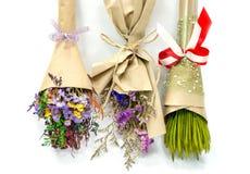 Bouquet sec de fleurs Photos libres de droits
