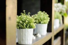 Bouquet sensible blanc de mariage Image libre de droits