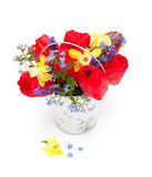 Bouquet of spring flowers Royalty Free Stock Image