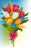 Bouquet of spring flowers Royalty Free Stock Photography