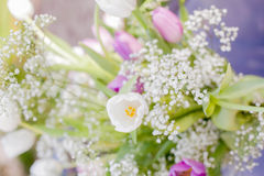 Bouquet of spring flowers Stock Photo