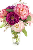 Bouquet of Spring Roses Royalty Free Stock Photo