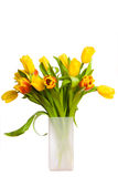 Bouquet of spring tulips Stock Image
