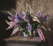 Bouquet. Still life with a bouquet of garden flowers Royalty Free Stock Photography