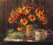 Bouquet. Still life with summer bouquet Royalty Free Stock Image