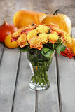 Bouquet of stunning orange roses Stock Image