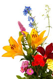 Bouquet of summer flowers for  background. Bouquet of summer flowers for the background Stock Photos