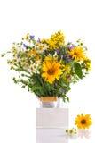Bouquet of summer flowers Stock Photos