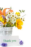 Bouquet of summer wildflowers